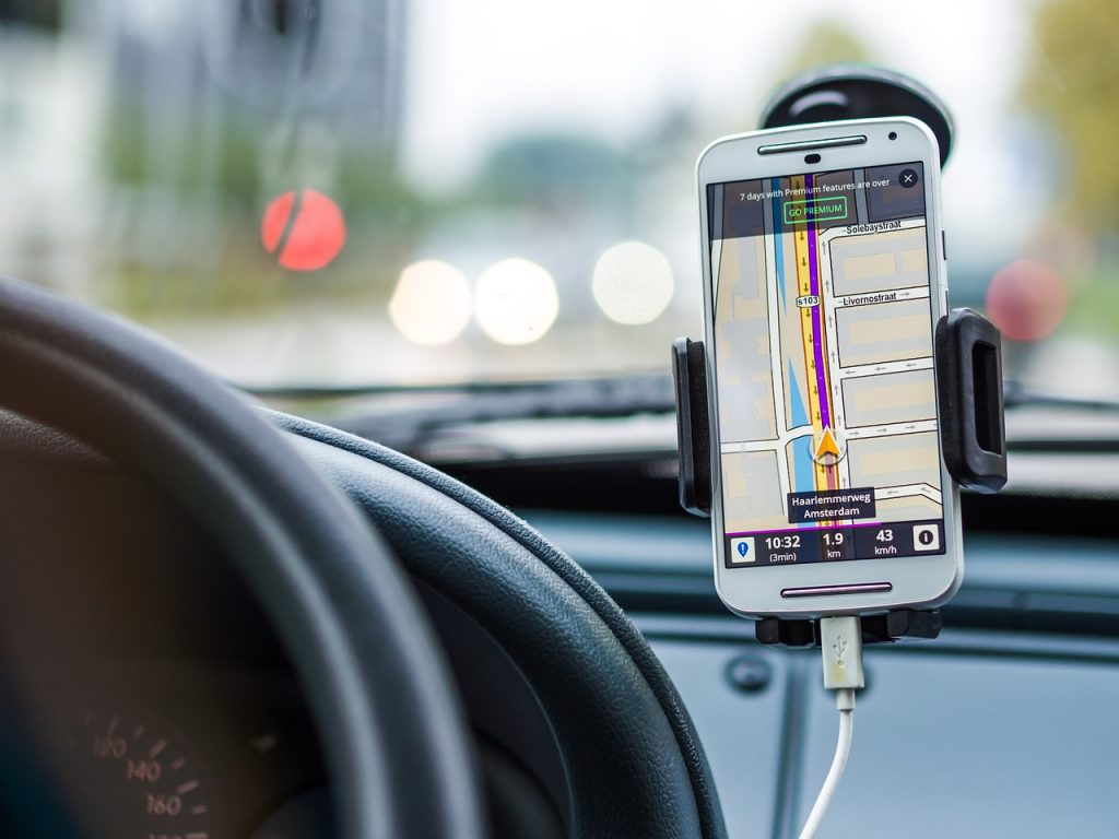 GPS og mobildata i USA