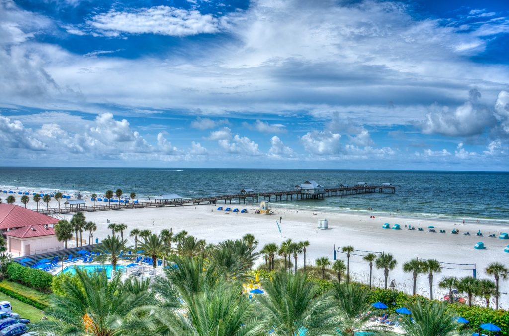 Badeferie i Florida - Clearwater Beach