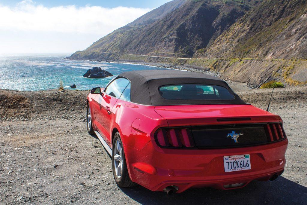 Leiebil San Francisco - Mustang cabriolet