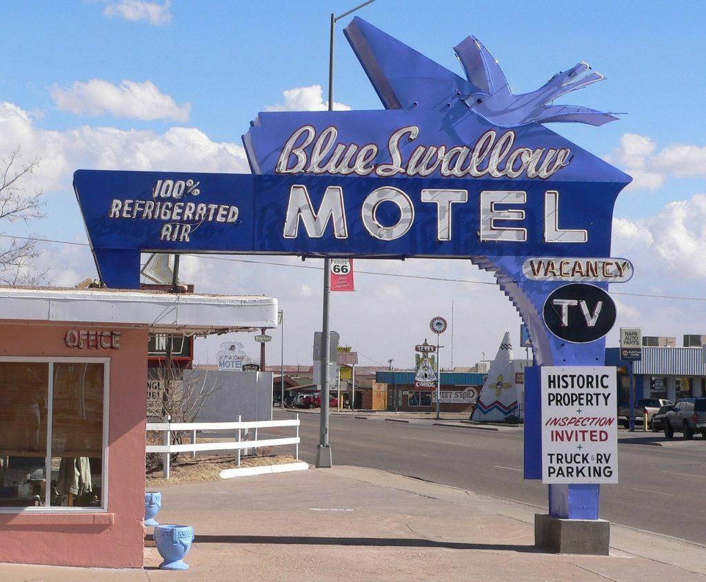 Roadtrip route 66 - klassisk motell