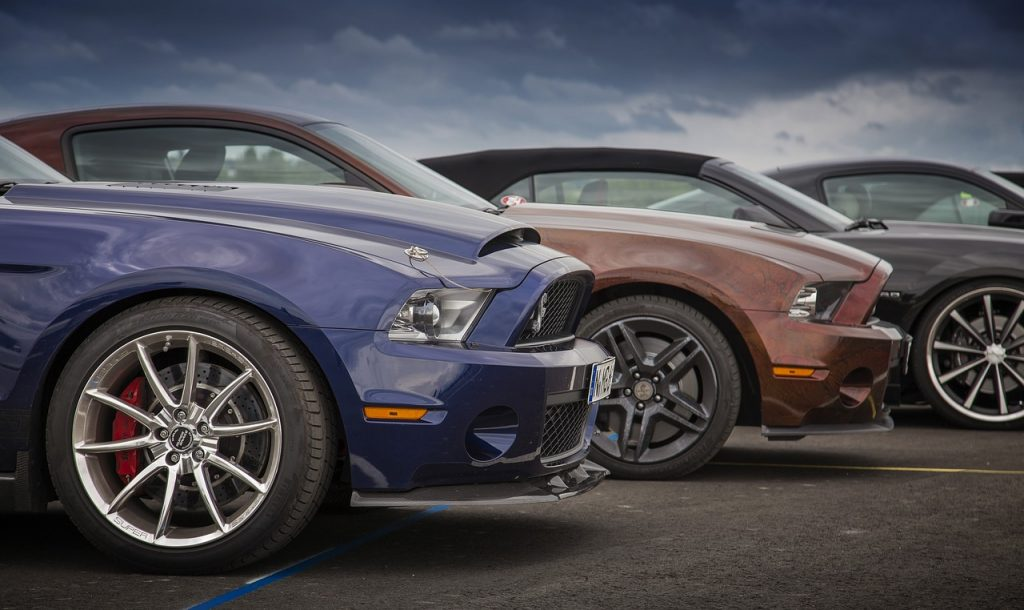 Leiebil Las Vegas - Mustang V8