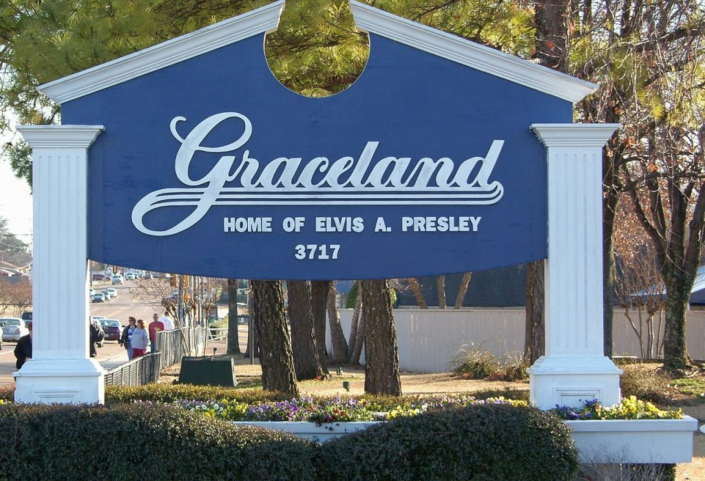 Roadtrip Los Angeles New York - Graceland